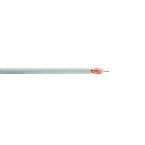 CABLE COAXIAL ANTENA TV TDT-SAT dB800MHz BLANCO A METROS